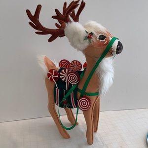Annalee Reindeer Christmas Decor 2004 big size